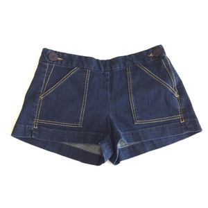 French Connection | Flat Front Denim Shorts